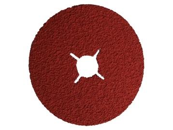 RoxelPro Фибровый шлифовальный круг ROXPRO 125 х 22мм, керамика, Р40