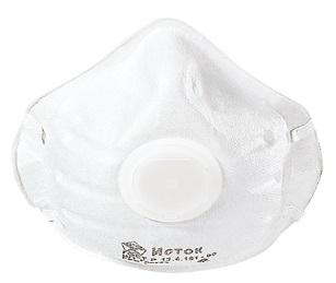 Полумаска фильтр. формованная с клапаном FFP2