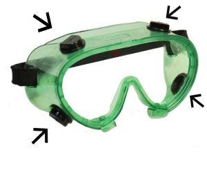 """Очки защитные """"Исток"""" закрытого типа с непрямой вентиляцией"""