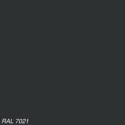 Порошковая краска П-ПЛ-1010 RAL 7021 (гладкая)/20кг/цена за 1 кг