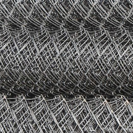 Сетка плетенная ГОСТ 5336-80 (Высота 1,5м,  длина 10м, без покрытия, ячейка 25, d 1.2)