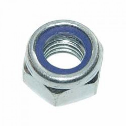 Гайка шестигранная со стопорным кольцом DIN 985 (d,мм: 5)