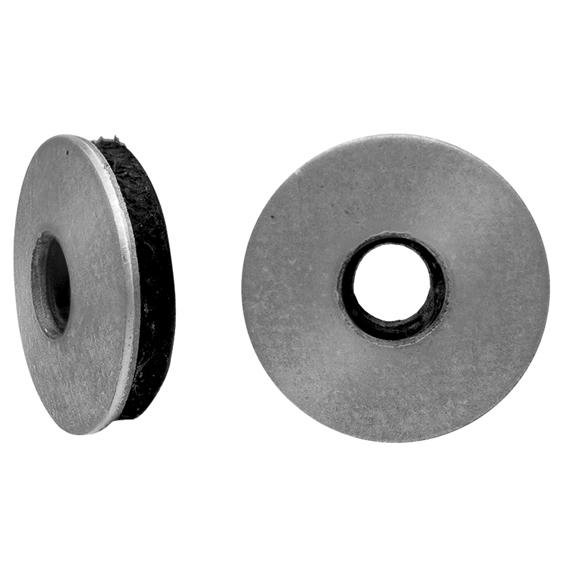 Шайбы для кровельных саморезов, с резиновой прокладкой EPDM, оцинкованные 19 мм х 14 (6,3)