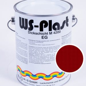 Краска WS-Plast (рубиновый) 2,5 л
