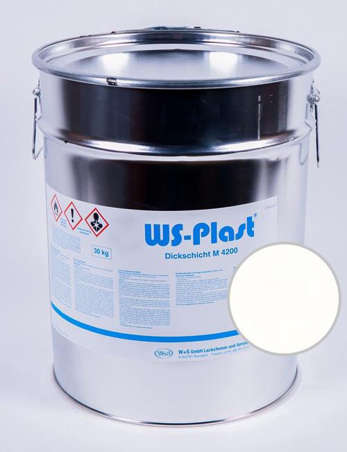 Краска WS-Plast (белый яркий), 30 кг