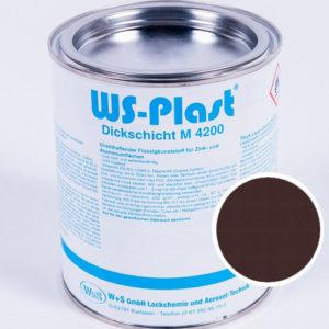 Краска WS-Plast (шоколад) 0,75 л