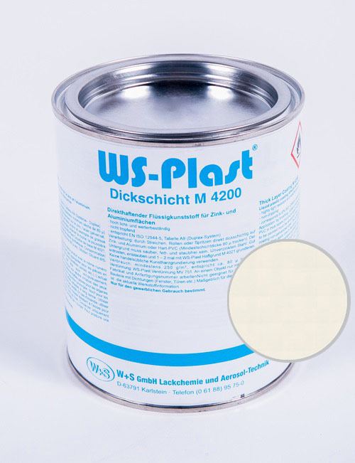 Краска WS-Plast (жемчужно-белый) 0,75 л