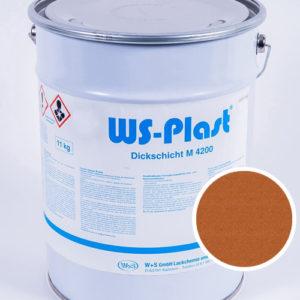 Краска WS-Plast (медь), 11 кг