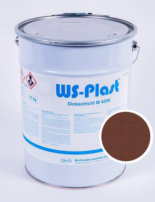 Краска WS-Plast (старая медь), 11 кг