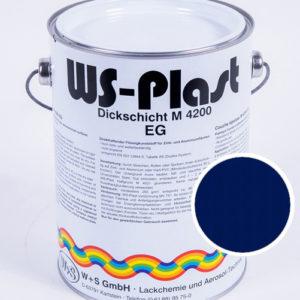 Краска WS-Plast (синий) 2,5 л