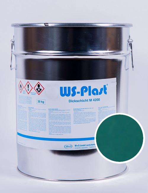 Краска WS-Plast (бирюзовая мята), 30 кг