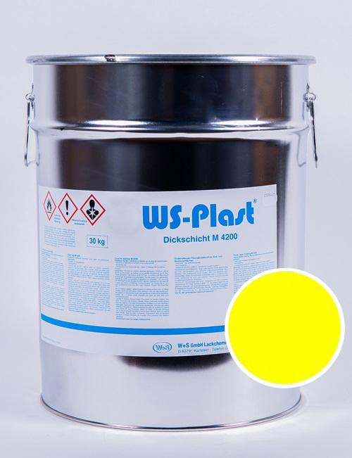 Краска WS-Plast (серный желтый), 30 кг