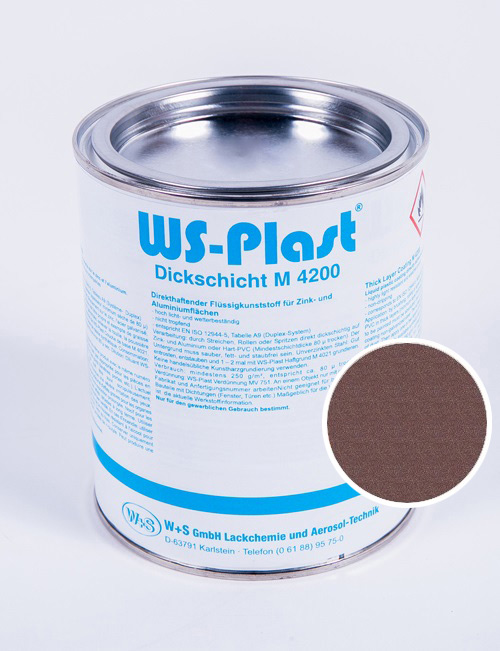 Краска WS-Plast (металлик-янтарь) 0,75 л