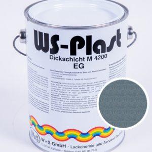 Краска WS-Plast (металлик-бирюза) 2,5 л