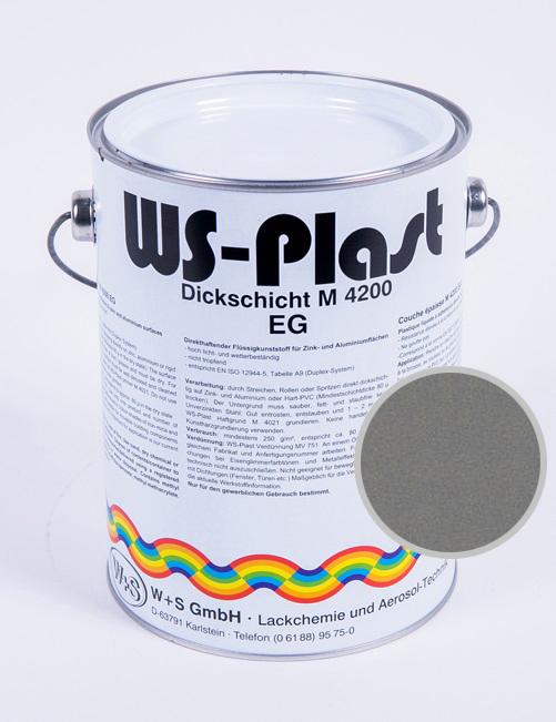 Краска WS-Plast DB702 (серый), 2.5 л