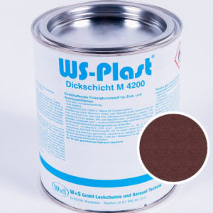 Краска WS-Plast (шоколад. графит) 0,75 л