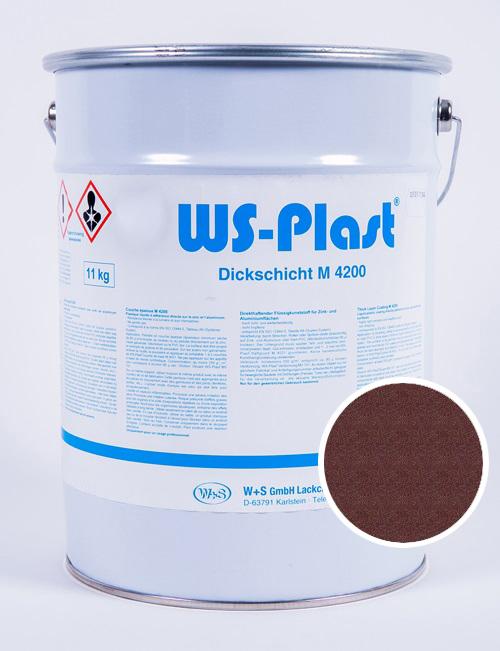 Краска WS-Plast (шоколадный графит), 11 кг