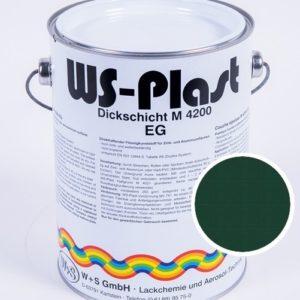 Краска WS-Plast (зеленый мох) 2,5 л