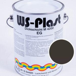 Краска WS-Plast (серо-коричневый) 2,5 л
