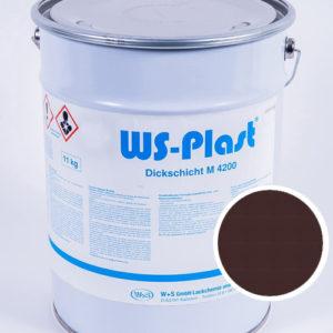 Краска WS-Plast (шоколад), 11 кг