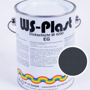 Краска WS-Plast (серый антрацит) 2,5 л