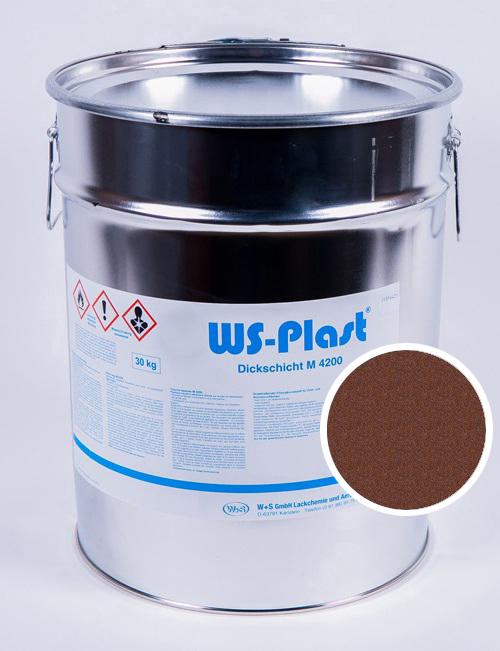 Краска WS-Plast (старая медь), 30 кг