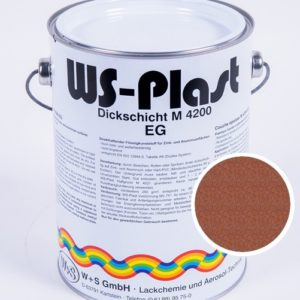 Краска WS-Plast (медный графит) 2,5 л