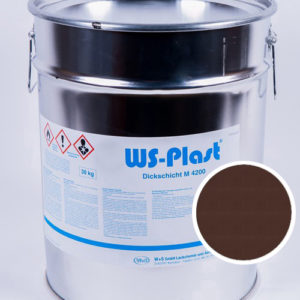 Краска WS-Plast (темно-коричневый), 30 кг