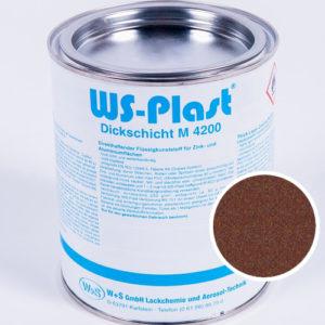 Краска WS-Plast (старая медь) 0,75 л