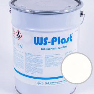 Краска WS-Plast (белый яркий), 11 кг