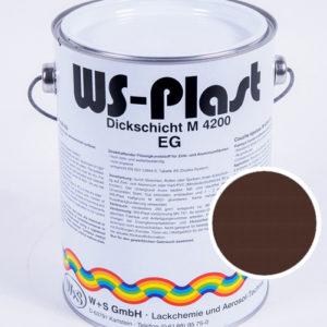 Краска WS-Plast (темно-коричневый) 2,5 л