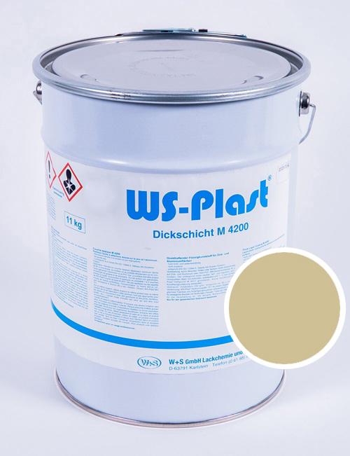 Краска WS-Plast (светлая слоновая кость), 11 кг