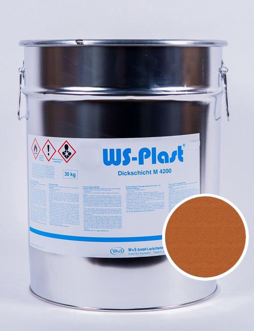 Краска WS-Plast (медь), 30 кг