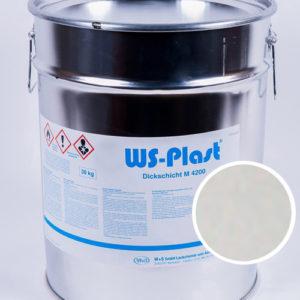 Краска WS-Plast (светло-серый), 30 кг
