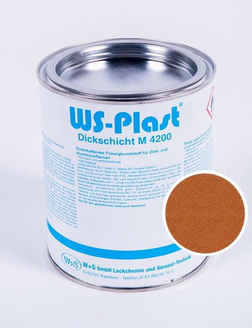 Краска WS-Plast (медь) 0,75 л