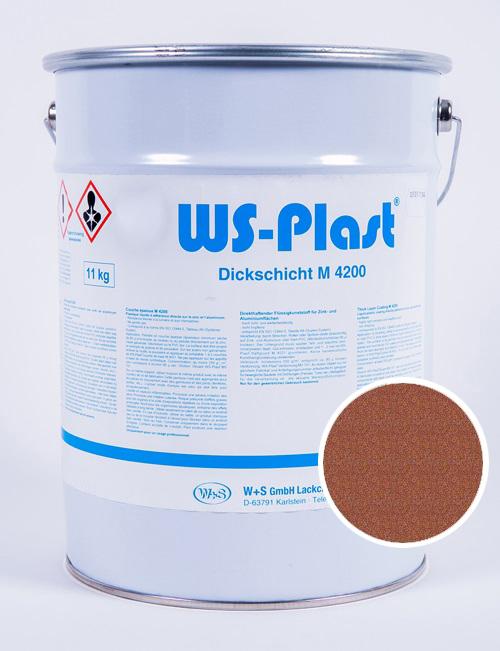 Краска WS-Plast (медный графит), 11 кг