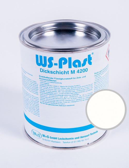 Краска WS-Plast (белый) 0,75 л