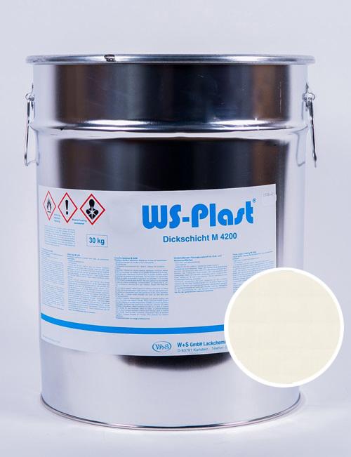 Краска WS-Plast (жемчужно-белый), 30 кг
