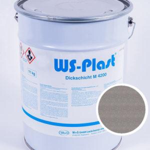 Краска WS-Plast (сатин. нержавейка), 11 кг