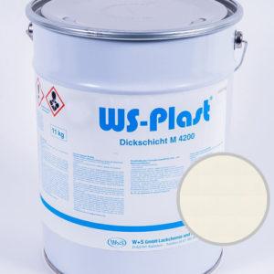 Краска WS-Plast (жемчужно-белый), 11 кг