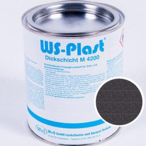 Краска WS-Plast (черный графит) 0,75 л