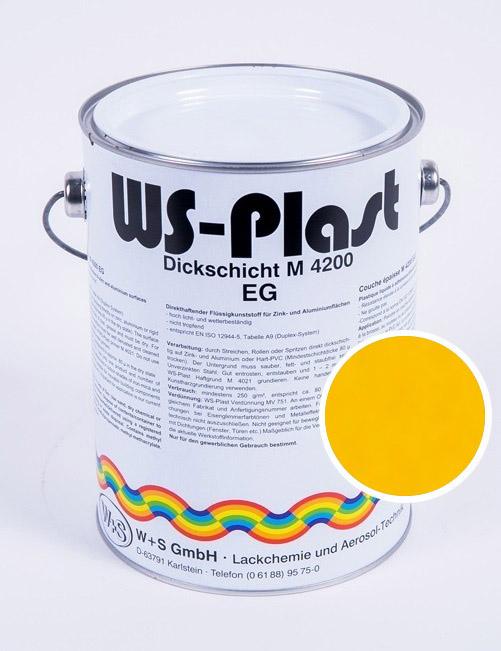 Краска WS-Plast (желтый) 2,5 л