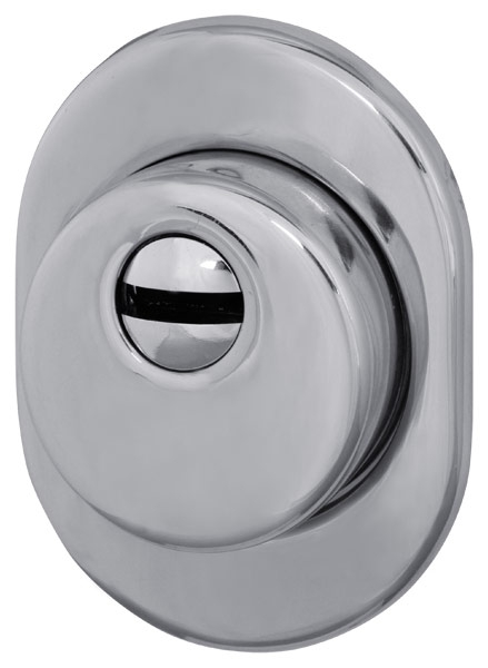 Броненакладка врезная WJ0101A (сталь) хром