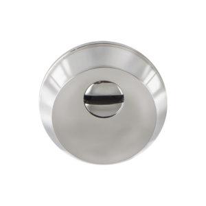 Броненакладка накладная (пустотелая) 12- 3 хром, латунь