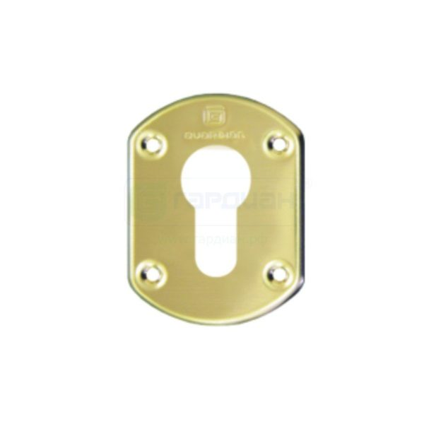 Накладка ГЛ 31 цил. (размер одной накладки 62*48) Цвет золото