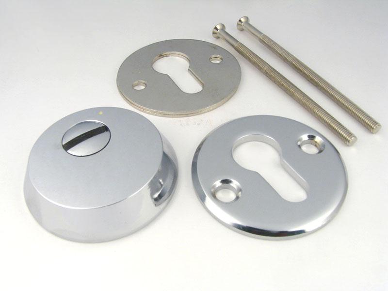 Броненакладка накладная WJ0103 CP хром, латунь, бронза