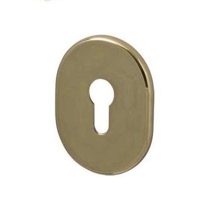 Накладка РЛ 31 цил. Размер накладки 90*65, цвет: золото