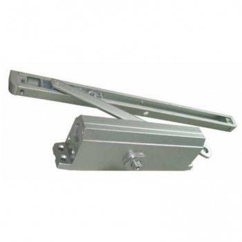 Доводчик дверной скрытый с фиксацией до 80 кг.