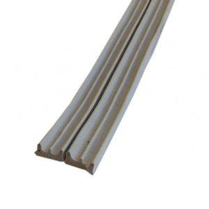 Уплотнитель с/к НОМЕ Е-профиль 9х4 мм, цвет белый/черный/коричневый/серый, 150 пм/катушка