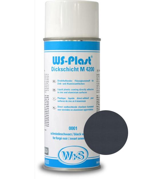 Краска WS-Plast (серый антрацит) Спрей 0,4 л